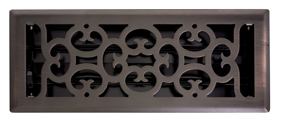 Ducted Heating Vent Floor Register Covers Oil Rubbed Bronze Ebay Schots Home Emporium 14 95