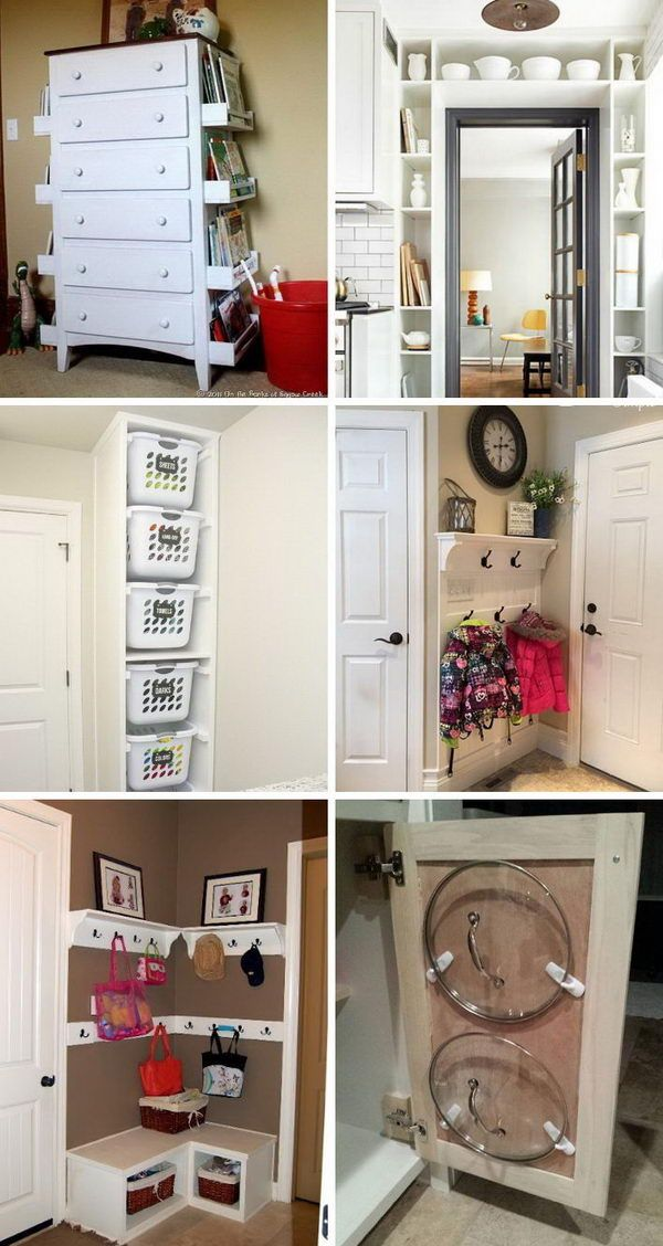 Best 50 Easy Storage Ideas For Small Spaces 2018 Small Space 400 x 300