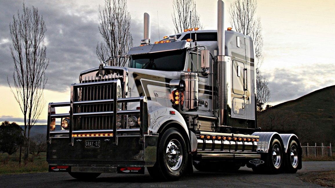 Cool Semi Trucks Wallpaper Trucks Kenworth Cool Trucks