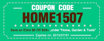 Coupon code: HOME1507