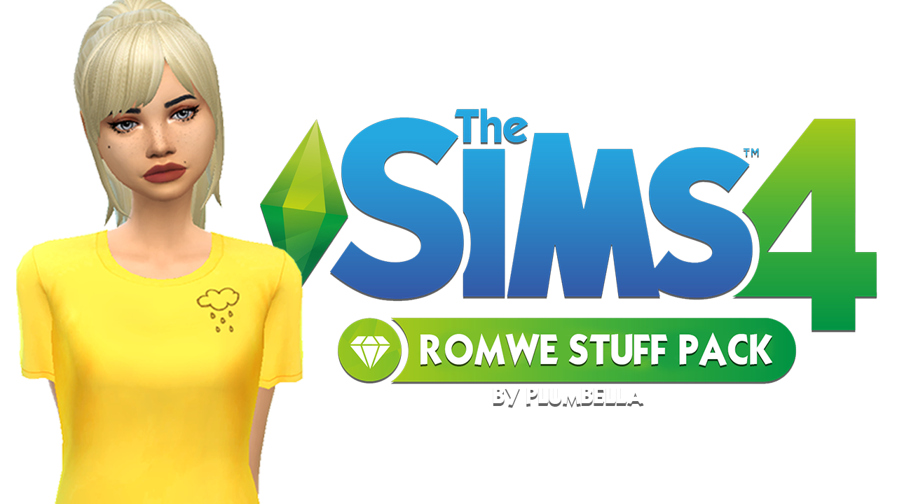 "81e12ac41cf plumbella  "" THE SIMS 4 ROMWE STUFF PACK    (fan made) Thank you all so  much to everyone who has subscribed! I can t believe I m over 600  subscribers on my ..."