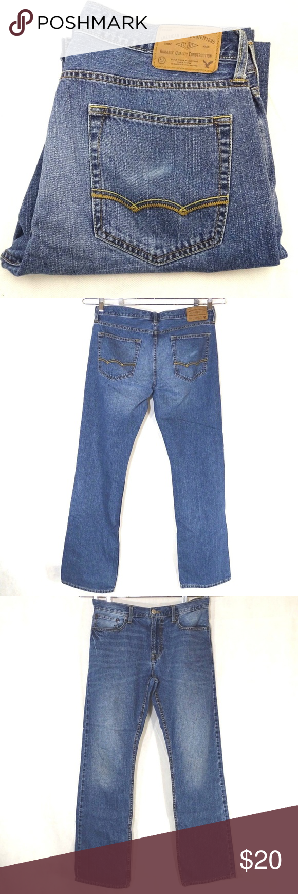 a13629e1ad7 American Eagle Outfitters AEO Original Boot Jeans ITEM DESCRIPTION: American  Eagle Outfitters AEO Original Boot