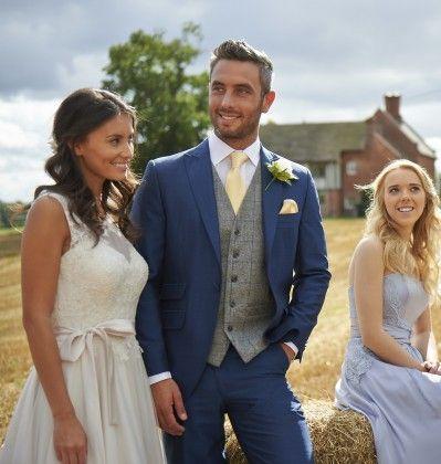 fa03e3dc5850 ... wedding suit! Tweed Grey   Royal Waistcoat (234)