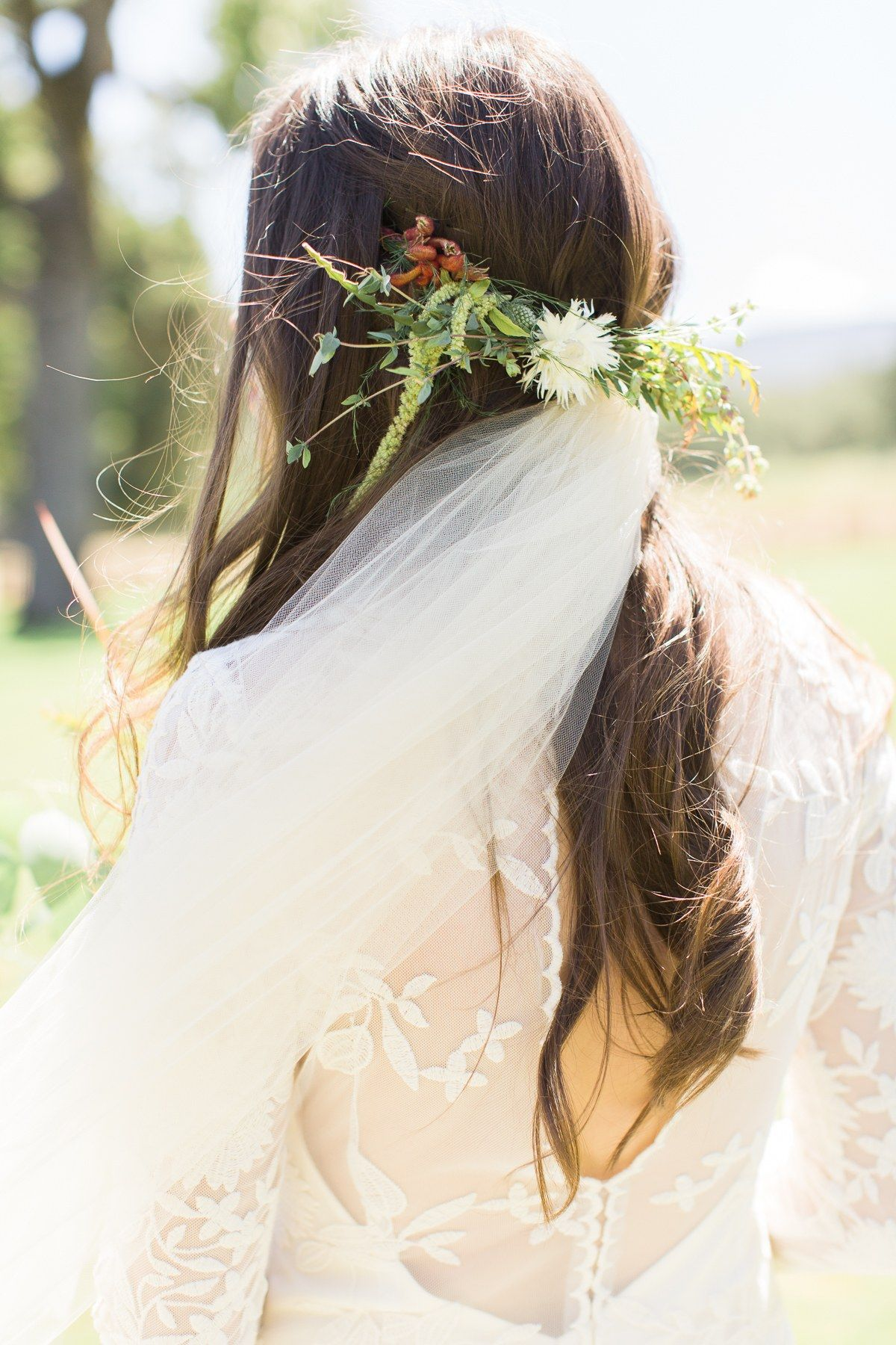 A Beautiful Boho Wedding in the California Forest | Backdrops and ...