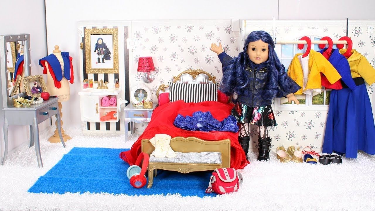 Baby Doll Bedroom for Disney Descendants 2 Evie! American ...