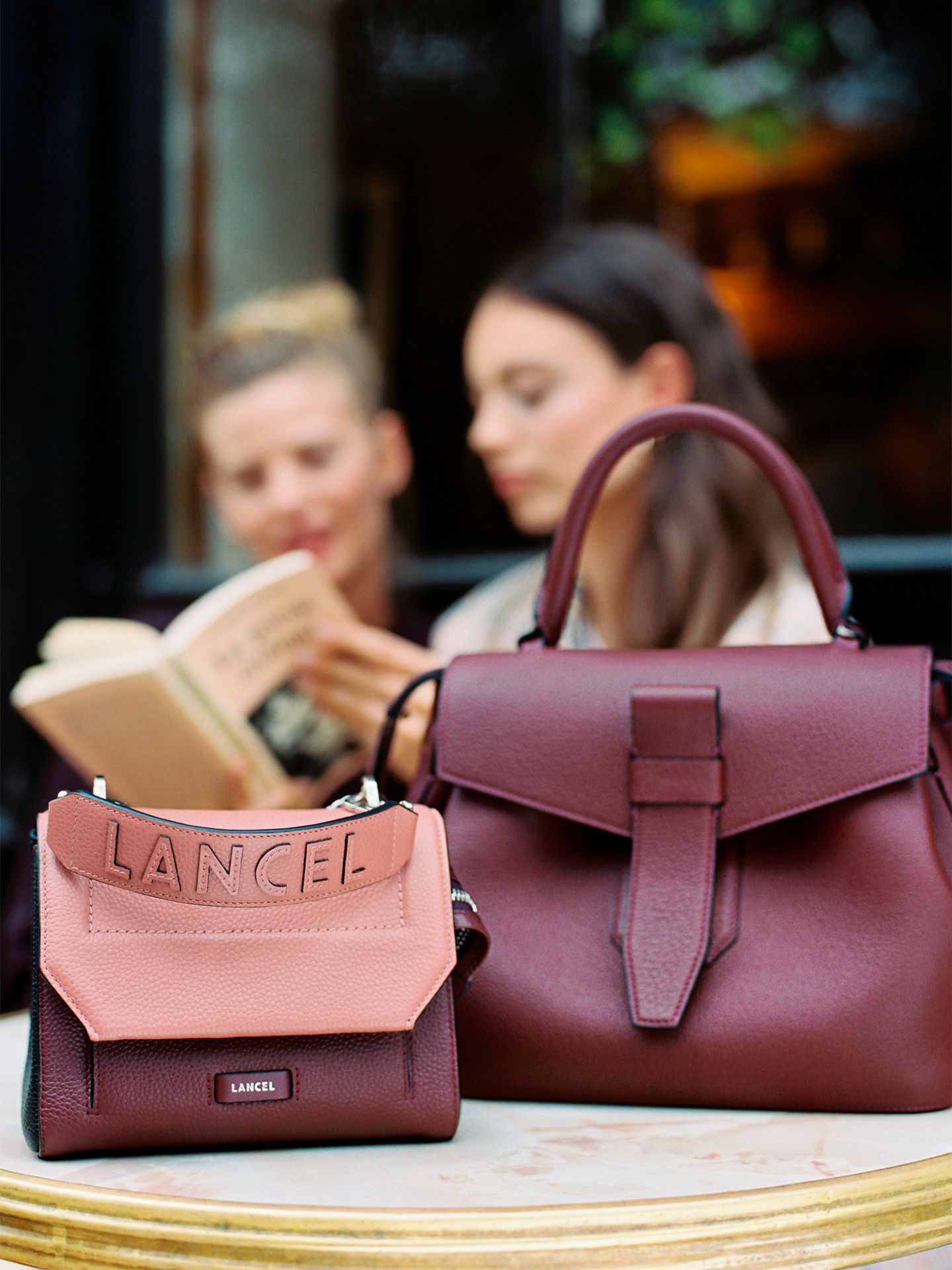 Ninon And Charlie By Lancel Bags Leather Satchel Bag Satchel Bags