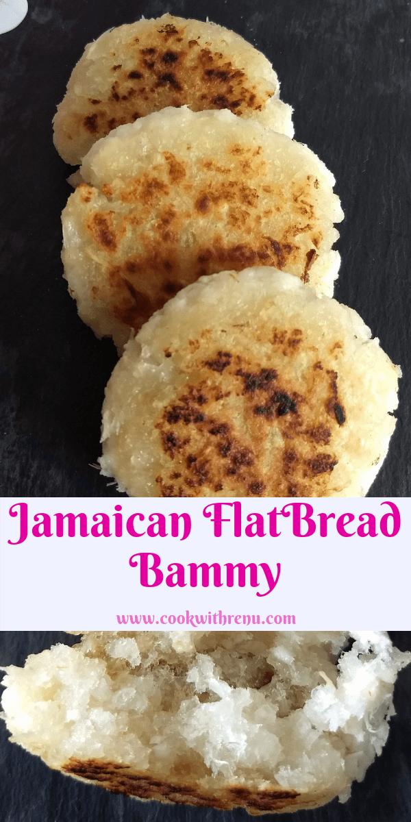 Jamaican Flatbread Bammy
