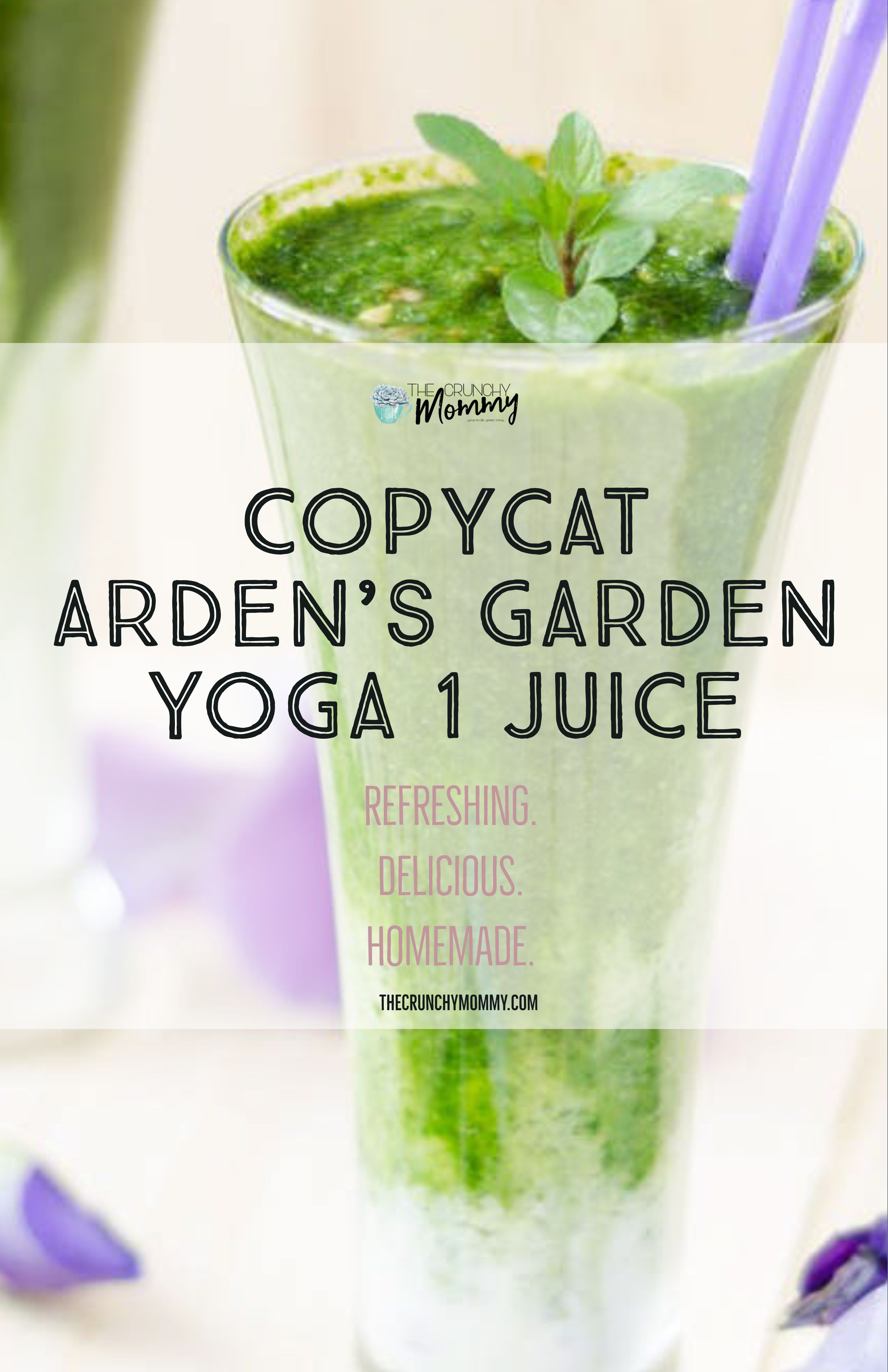 Copycat Arden S Garden Yoga 1 Recipe The Crunchy Mommy Recipe Nutribullet Smoothie Recipes Detox Recipes Arden Garden