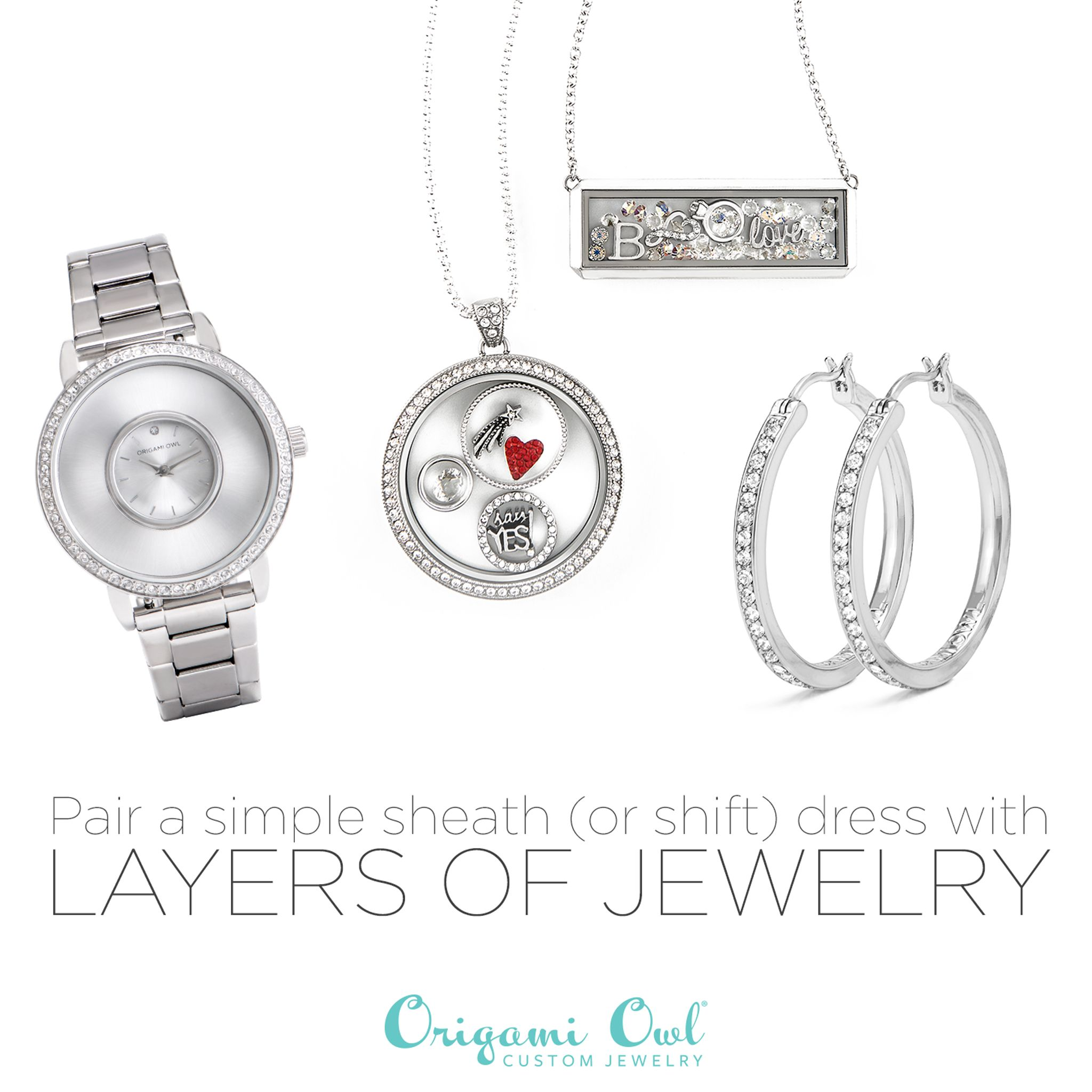 How to style fallwinter jewelry in layers silver thumbnail how to style fallwinter jewelry in layers silver thumbnail origami owl jeuxipadfo Choice Image