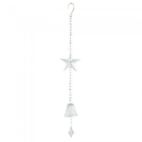 White Star Hanging Bell
