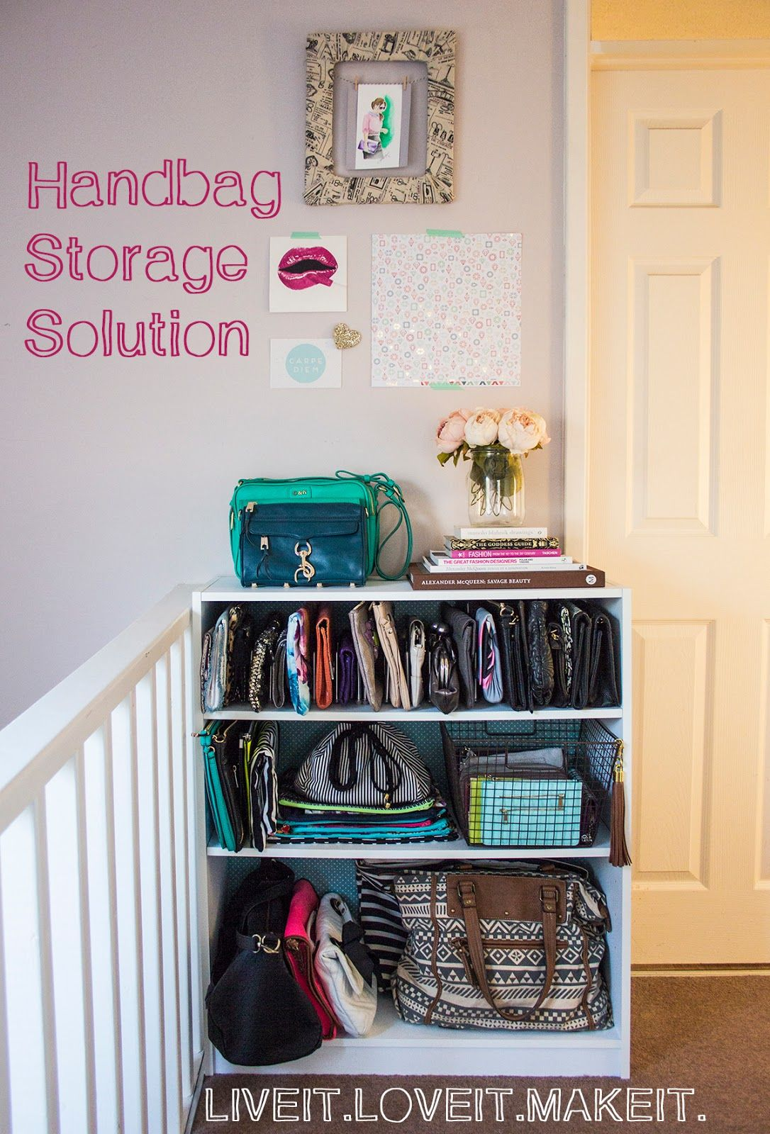 Exceptional Make It: Handbag Storage Solution