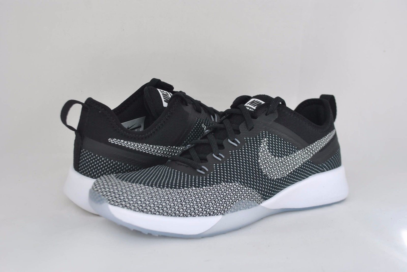 Nike Women's Air Zoom TR Dynamic Black White Cool Grey 849803-001 NEW Sz  6-10