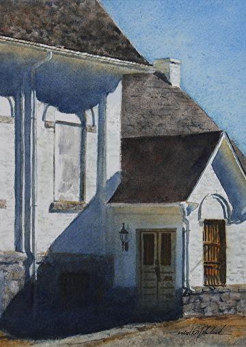 Locked Doors by Robert McFarland Watercolor ~ 10.5  x ... & Locked Doors by Robert McFarland Watercolor ~ 10.5