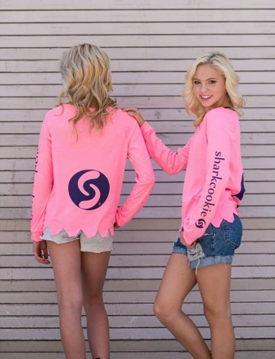 sharkcookie sundays 'sharkbite' t #jordynjones #sharkcokie www.sharkcookie.com #jordynjones #actress #model #dancer #singer #designer https://www.jordynonline.com