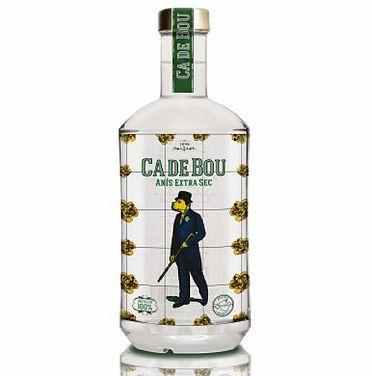 Botella realizada en serigrafía de vidrio por Serivid Trade para Ca de Bou www.serivid.com