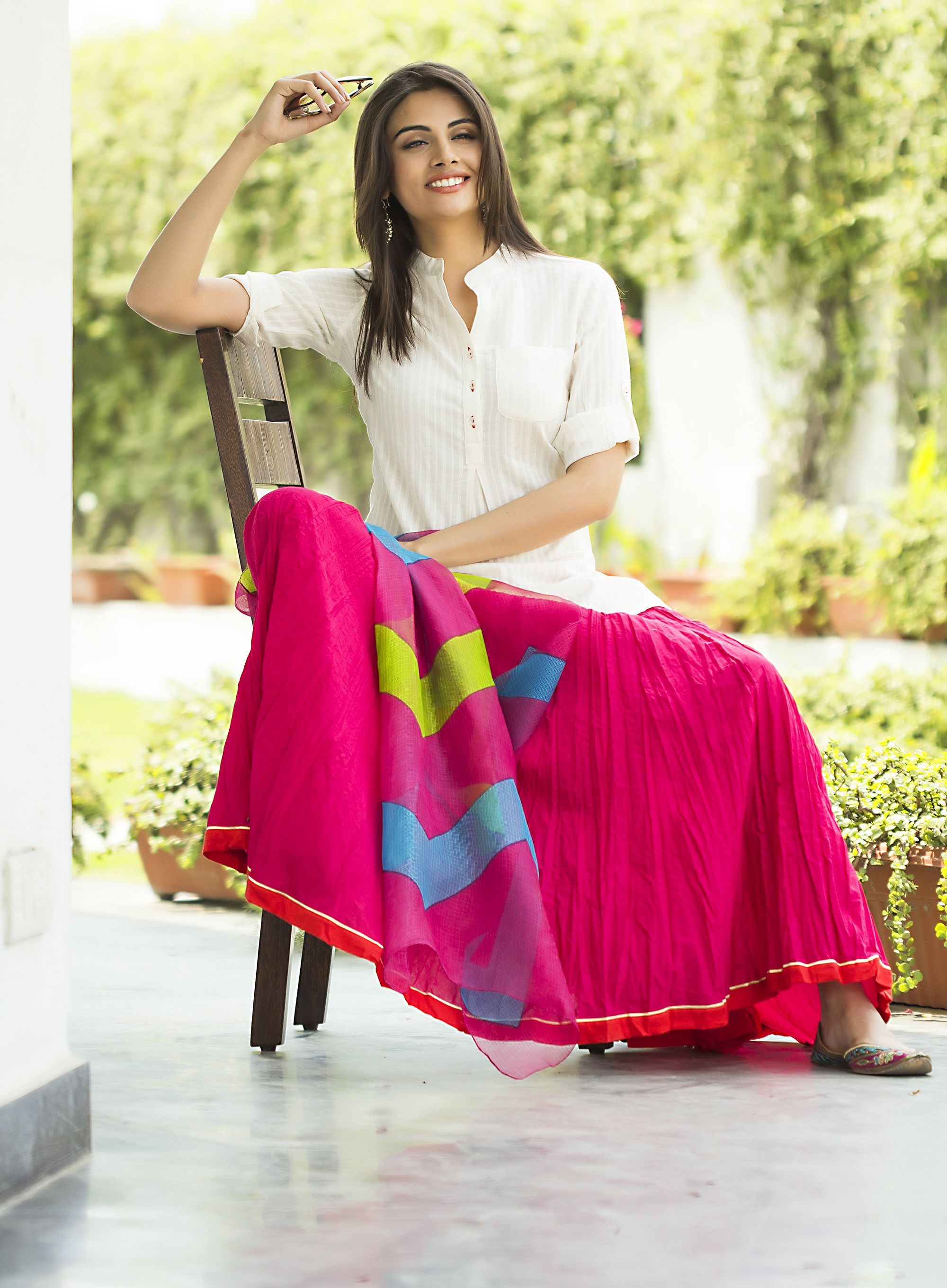 another take on the #gypsy look - shop for it @fabindia