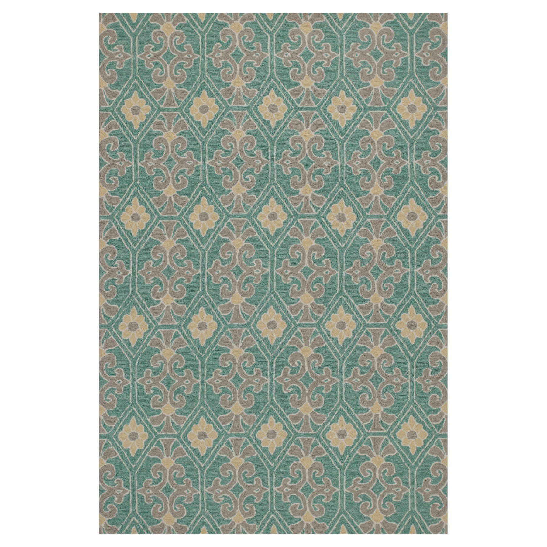 KAS Rugs Harbor 4215 Empire Indoor/Outdoor Area Rug - HAR42152X3