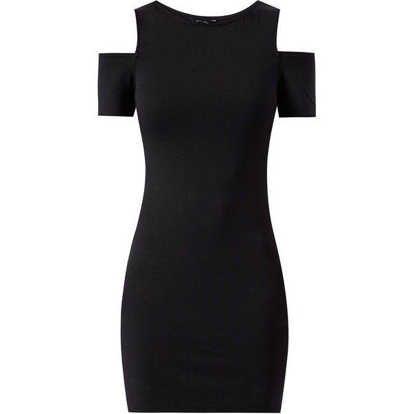 50++ Black open shoulder dress information