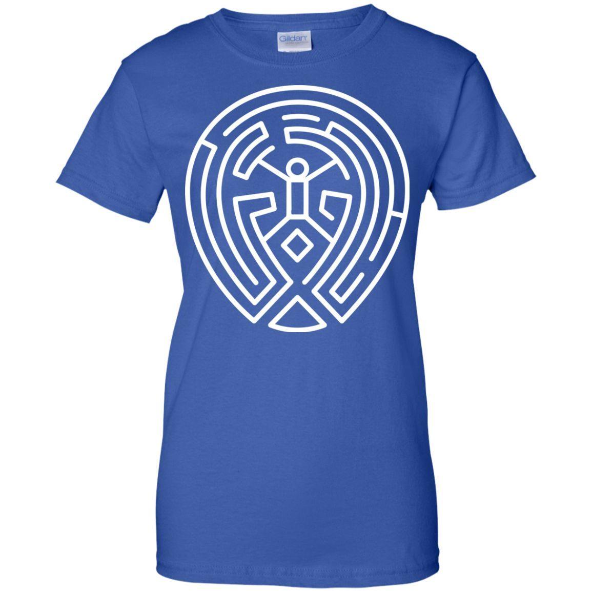 westworld22-01 Ladies Custom 100% Cotton T-Shirt