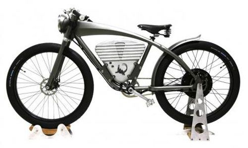 Icon Electric Flyer Vintage Style Electric Bicycle Vintage