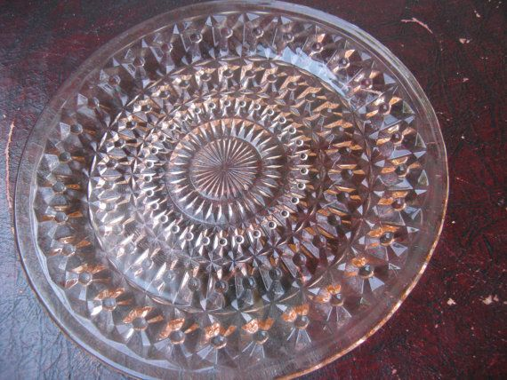 Holiday Buttons and Bows Depression Glass by InspirationMemories, $8.00