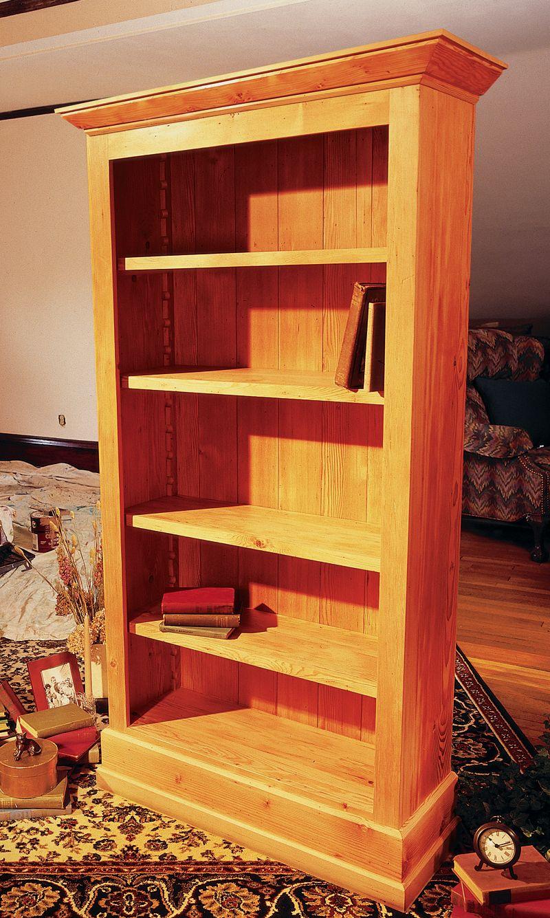 Simple Bookshelf Diy