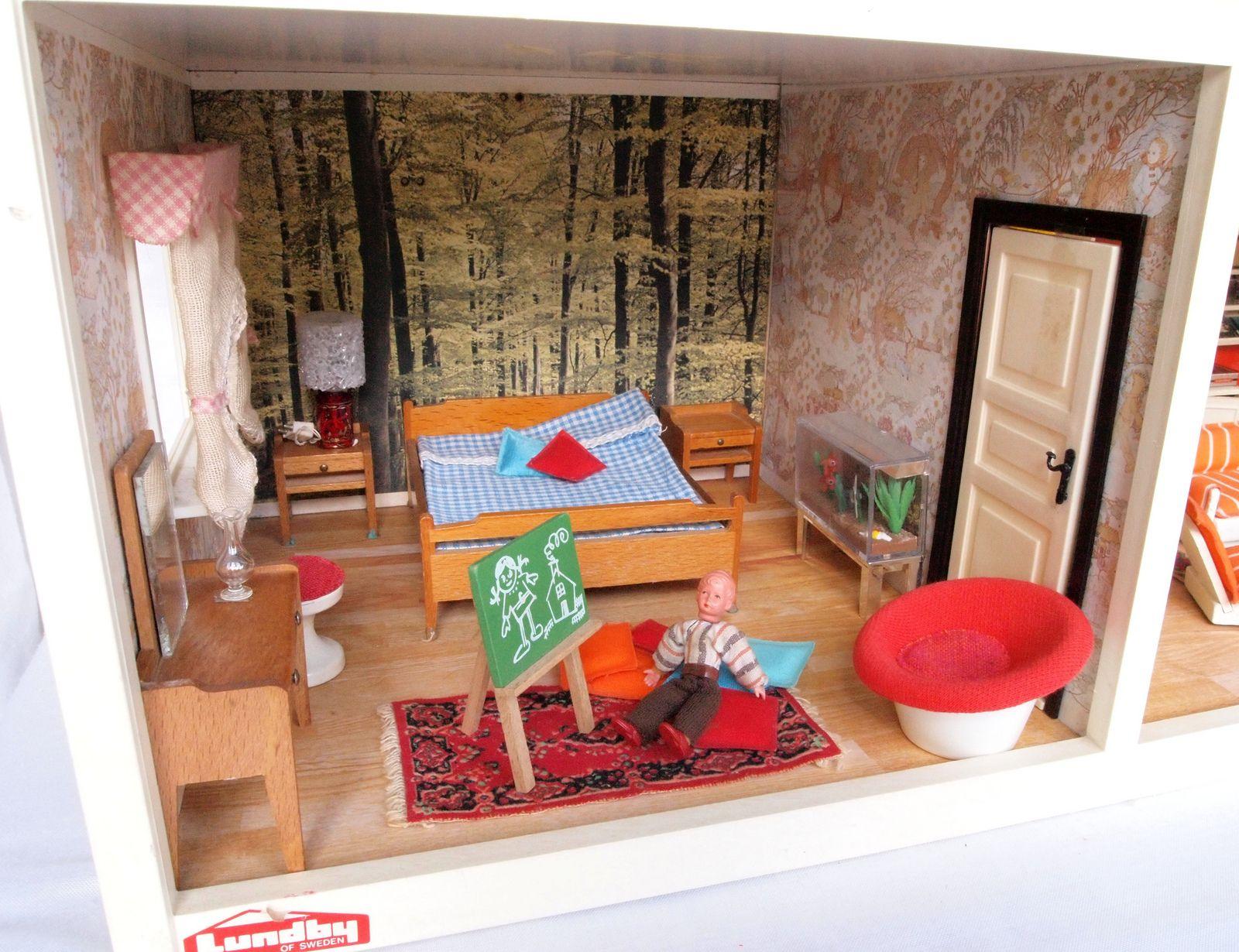 Lundby Schlafzimmer 4 | By Diepuppenstubensammlerin