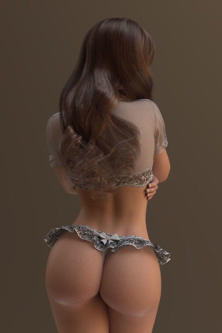 Girls ass liking
