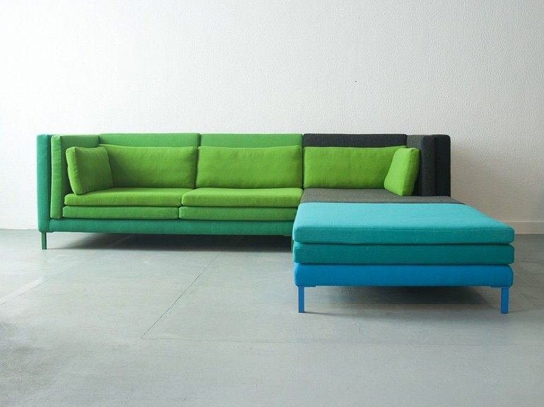 modular fabric sofa Layer, design Marco Sousa Santos to ...
