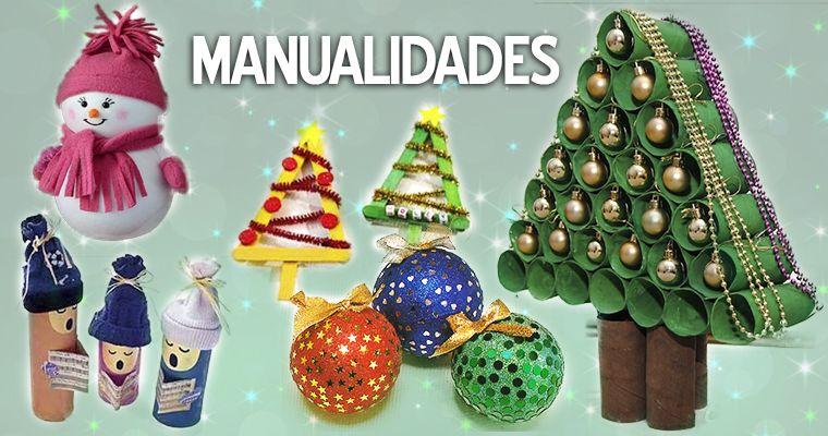 Manualidades navideñas para niños Material para maestros