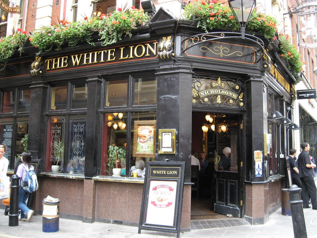 The White Lion, 24 James Street in Covent Garden, London