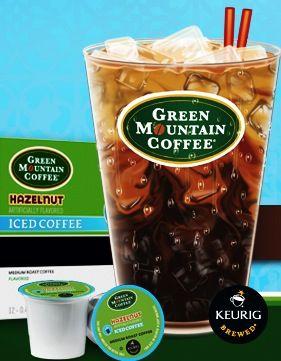 FREE Green Mountain Coffee Iced Hazelnut K-Cups Sample!