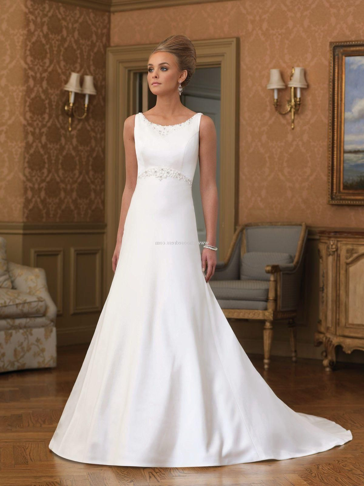 Love This Audrey Hepburn Style Wedding Dress Clic And Elegant