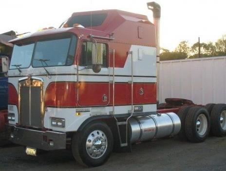 Kenworth Cabover Show Truck | Used Kenworth K100 Heavy ...