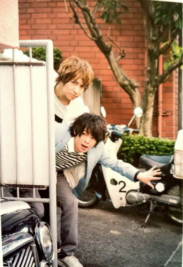 Arioka Daiki & Yaotome Hikaru Hey! Say! JUMP