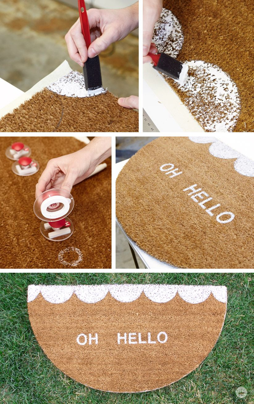 Fun Spring Doormats: Create A Lasting Impression At Your Front Door With