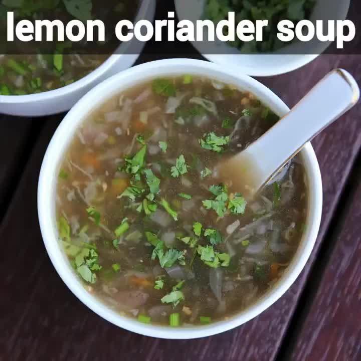 hebbar s kitchen on instagram lemon coriander soup recipe veg lemon and coriander soup full on hebbar s kitchen kachori id=57214