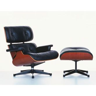CHARLES AND RAY EAMES - Lounge Chair and Ottoman