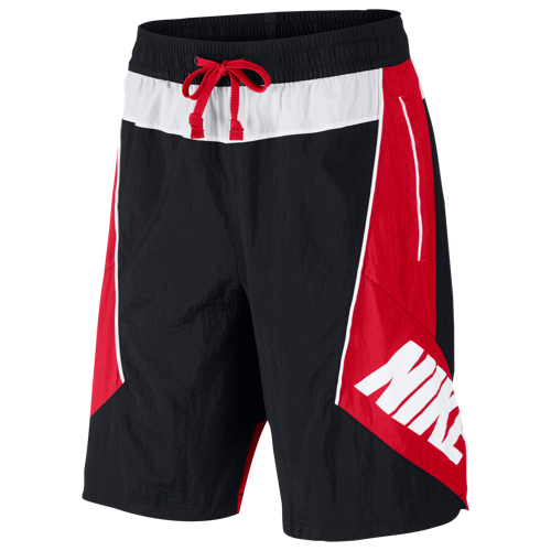 Flash Back In Time With The Nike Throwback Shorts Colorful Crinkle Woven Fabric Is Pieced Together To Form Large Panels And Trimmed Ropa Ropa Moderna Franelas