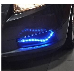 75.00$  Buy now - http://ali07z.worldwells.pw/go.php?t=1958275948 - 2pcs LED Fog Lamp Light For Chevrolet CRUZE 2009 2010 2011 2012 2013 75.00$