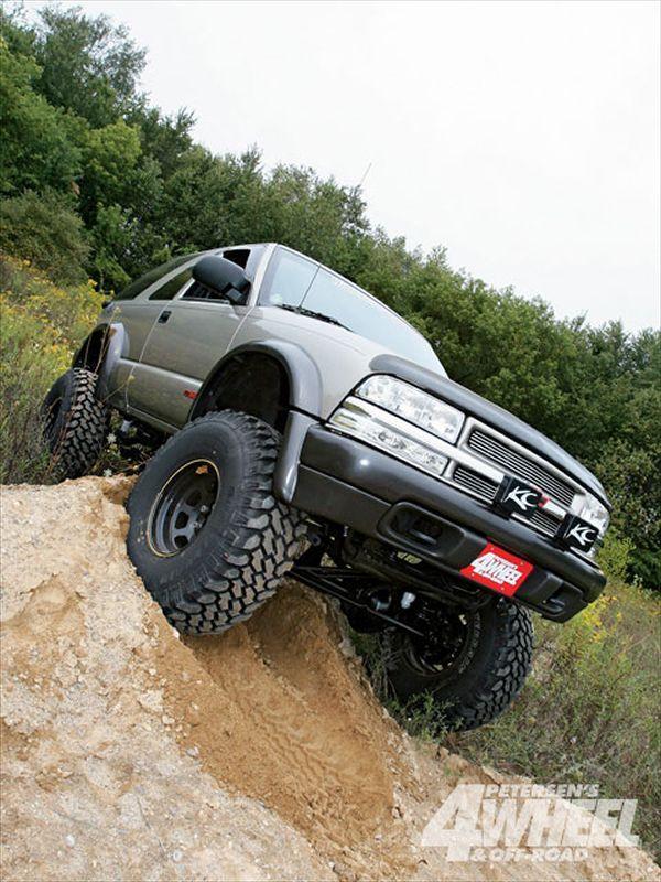 Chevy S10 Blazer Pickup Solid Axle Swap 4 Wheel Off Road Magazine Chevy S10 Chevy S10 Blazer