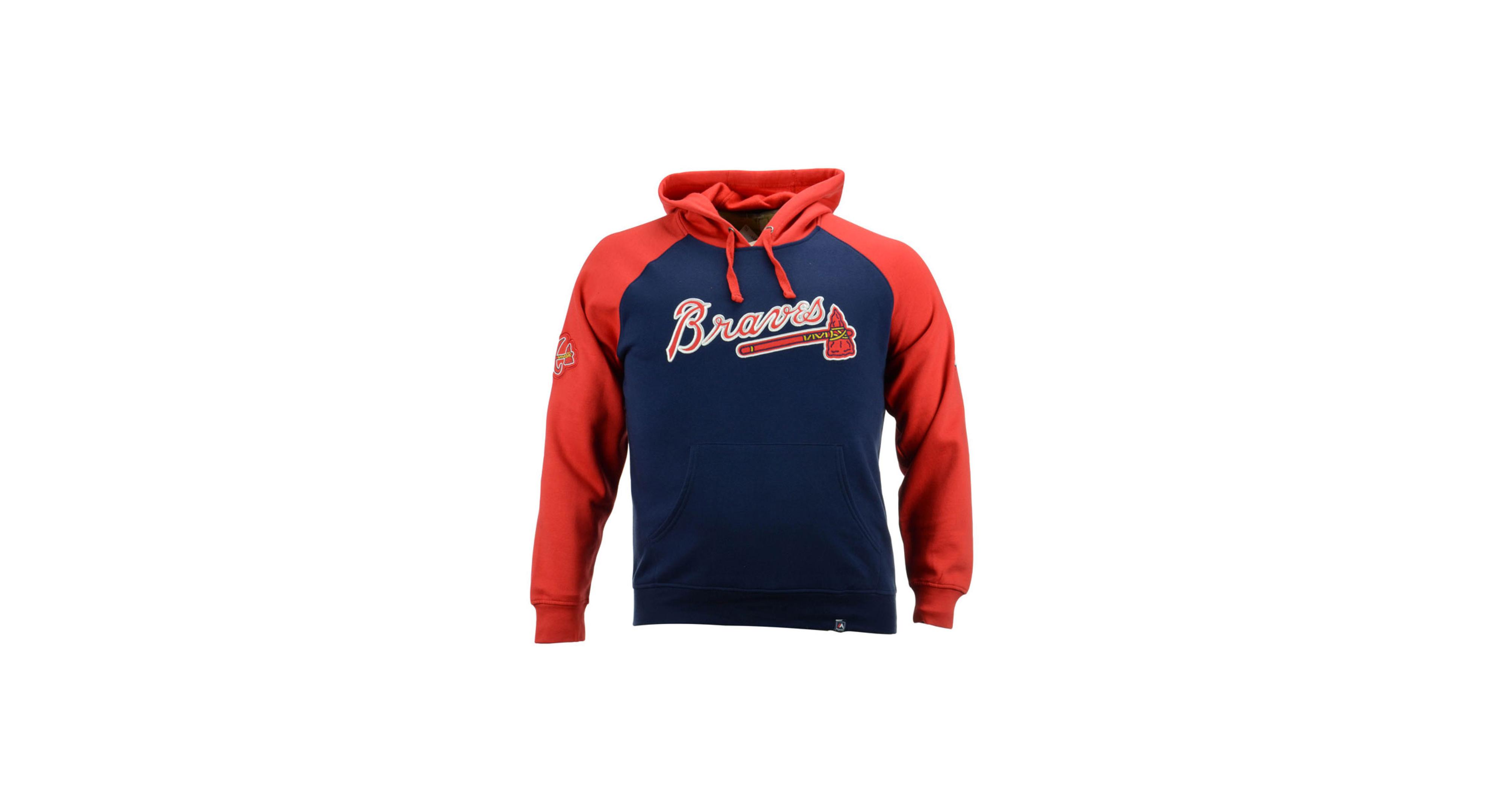 Majestic Men S Atlanta Braves Cunning Play Hoodie Products Atlanta Braves Hoodies Atlanta Braves Logo