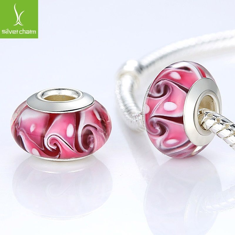 Aliexpress.com : Buy High Quality Silver DIY Murano Glass Beads Fit Pandora…