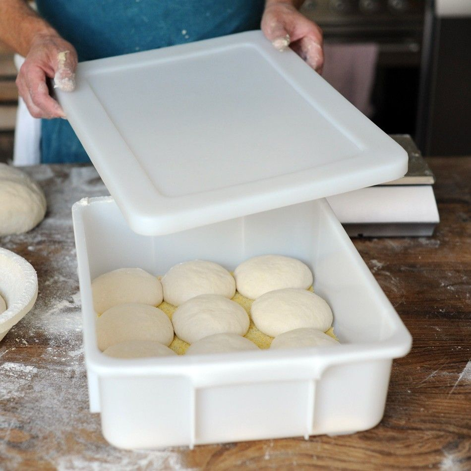 A Rigid Plastic Container With Ed Lid Made For Food Use And Designed The Storage Of Dough Proving In Domestic Fridge