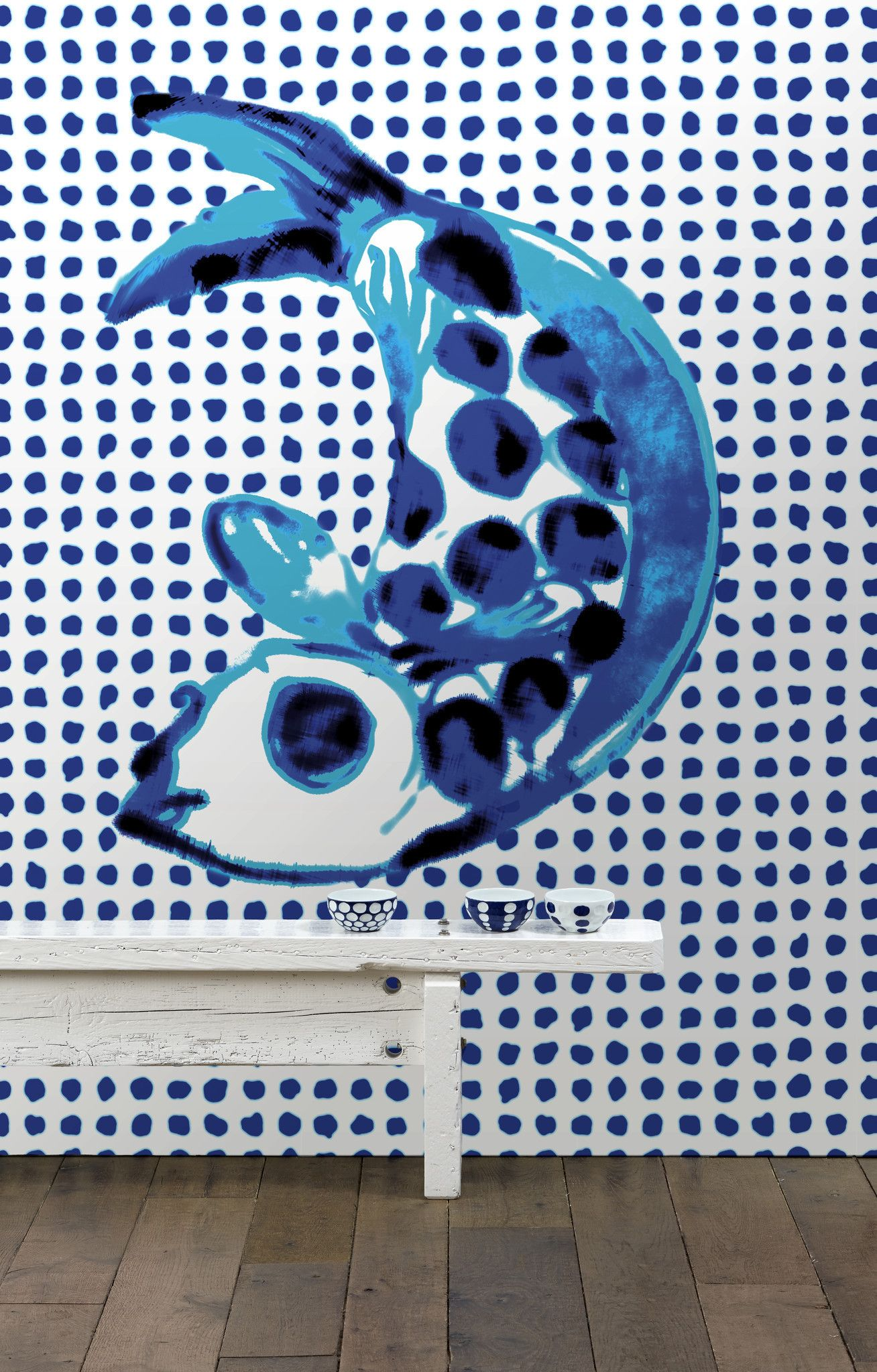 No. 1 Addiction Wall Mural design by Paola Navone for NLXL