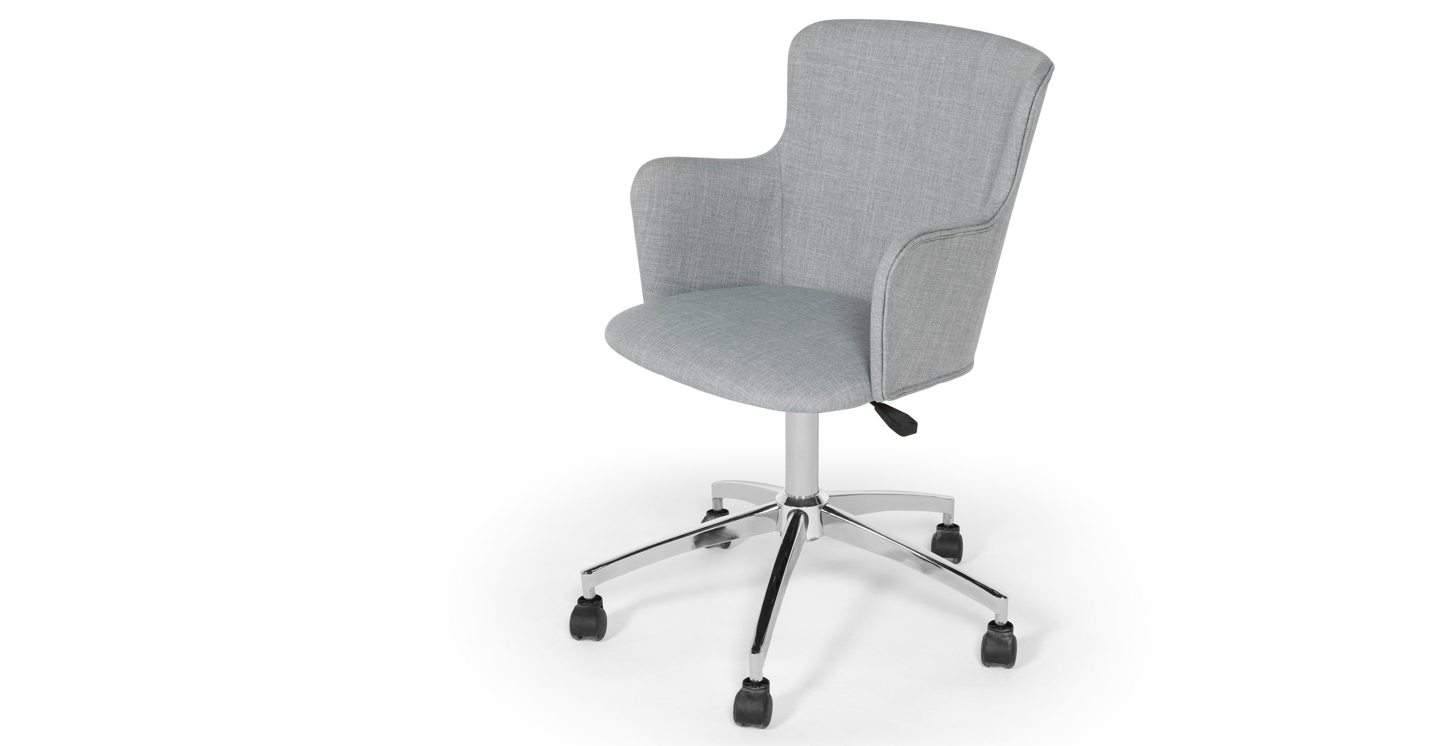 Winona Office Chair Print Grey Office Chair Chair Printed Chair