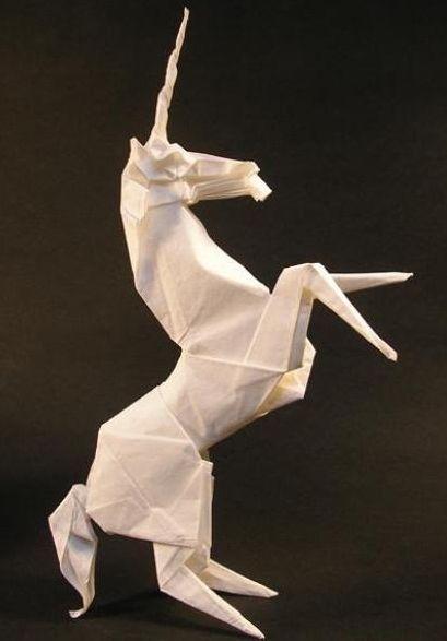 Unicorn Origami 2
