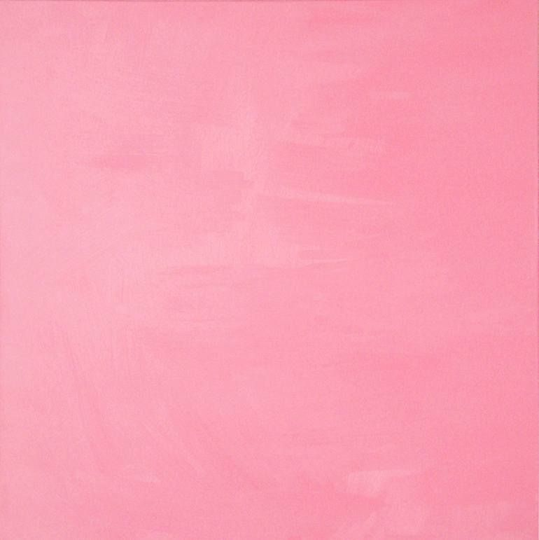 Pink Foursquare Painting