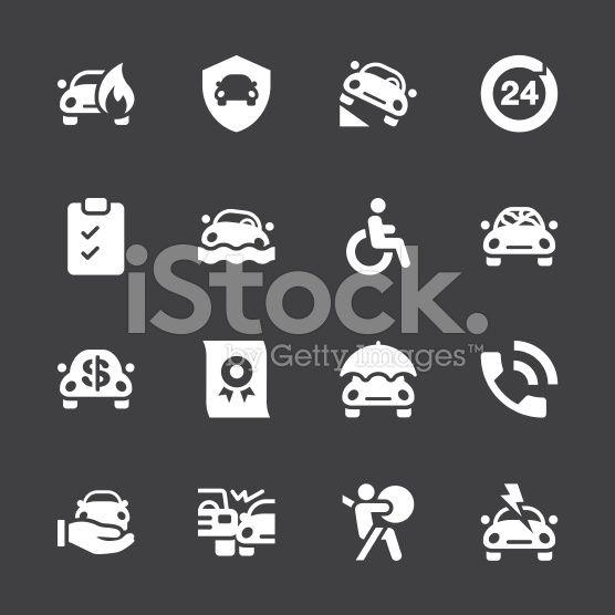 Car Insurance Icon White Series Car Insurance Car Insurance Comparison Auto Insurance Quotes