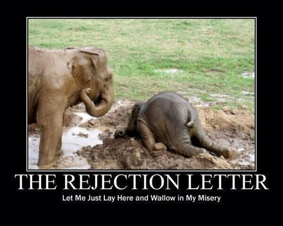 The Rejection Letter - Writers Write Creative Blog Smile - If - rejection letter sample